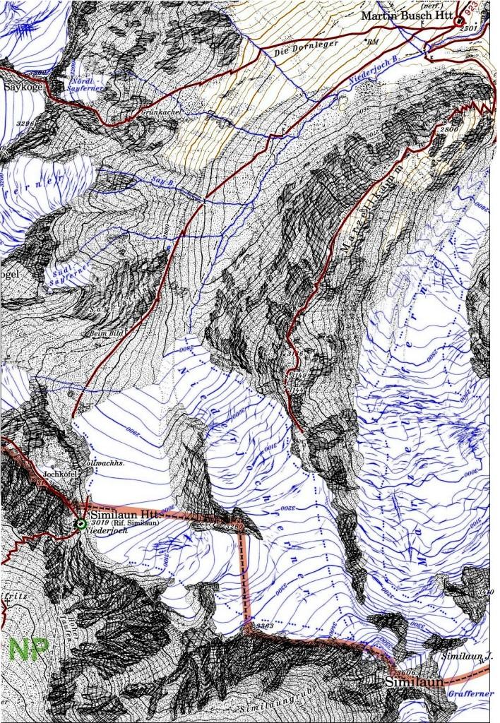 map-similaun